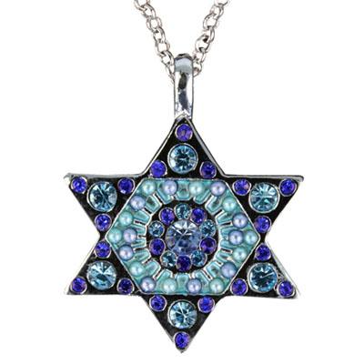 Jewish jewelry emanuel star of david necklace for Star of david jewelry wholesale