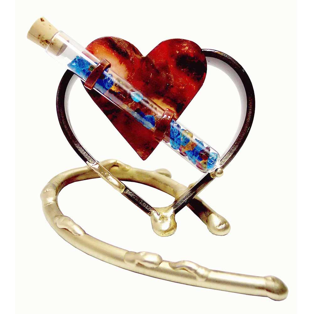 Jewish Wedding Gift Gary Rosenthals Hearts Desire Glass Keepsake