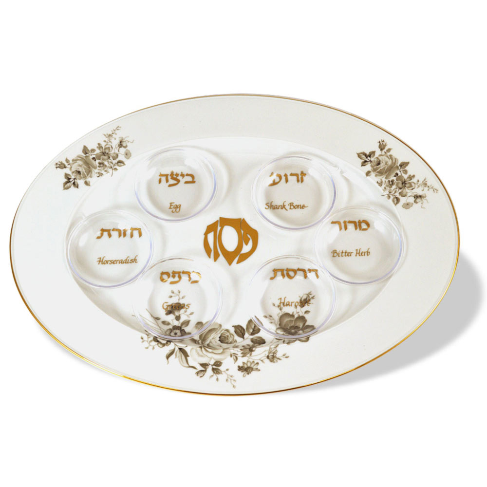 Elegant Passover Seder Plate