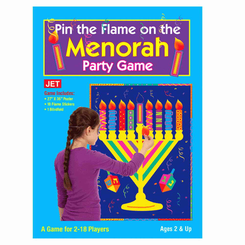AOFOTO 7x5ft Happy Hanukkah Poster Jewish Holiday Backdrop Judaism Candelabra Dreidrel Game Toy Burning Candles Hanukkah Menorah Background for Photography Photo Studio Props Vinyl