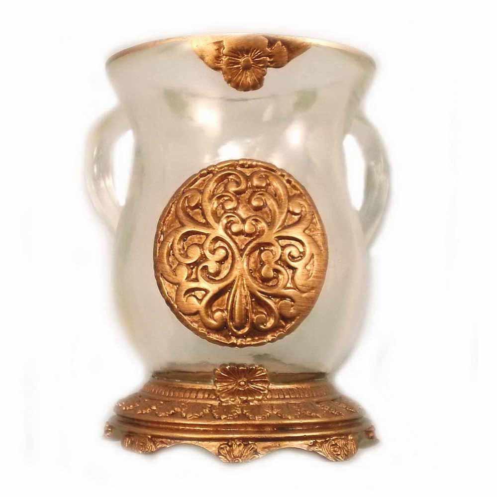 Ornamental Acrylic Washing Cup