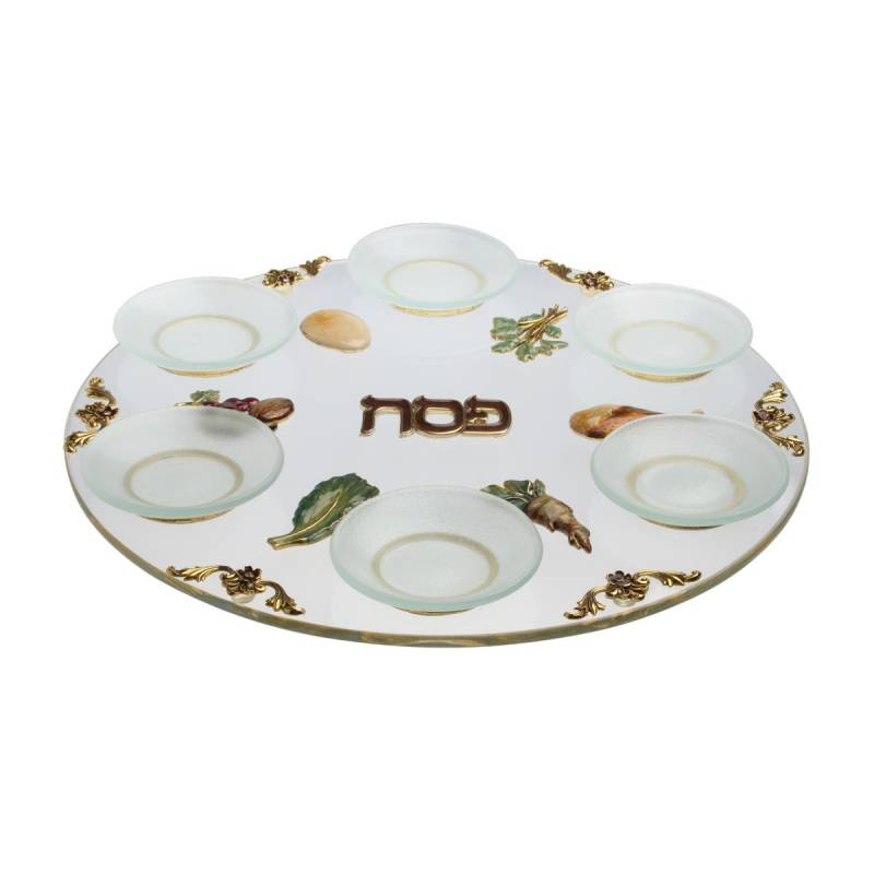 Passover Gifts Glass Symbols Passover Seder Plate