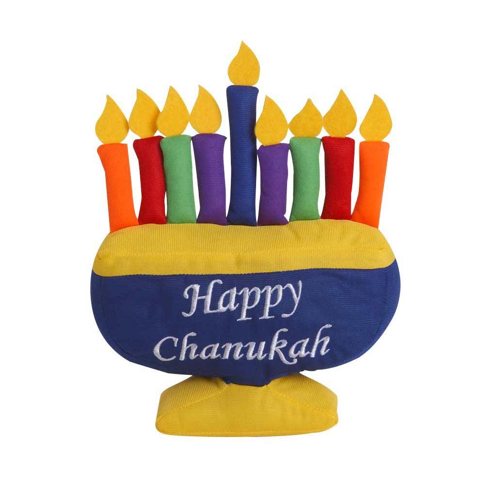 Toys For Hanukkah : Hanukkah kid s gifts child plush menorah toy
