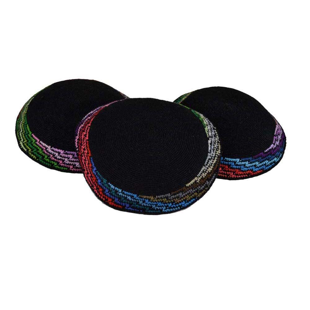 Excepcional Kippah Crochet Pattern Imágenes - Manta de Tejer Patrón ...