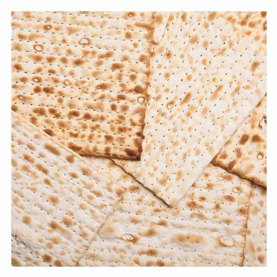 Matzah napkin rings for Passover
