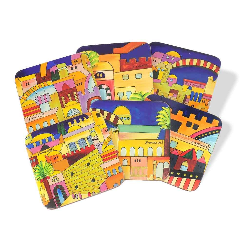 https://www.traditionsjewishgifts.com/media/six-pack-jerusalem-coasters-at10917.jpg