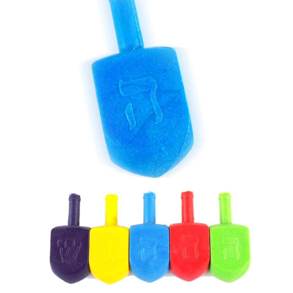 Toys For Hanukkah : Small size plastic dreidels