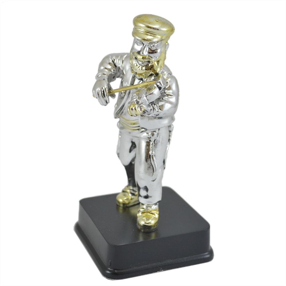 Jewish Gifts Sculptures Standing Fiddler Figurine
