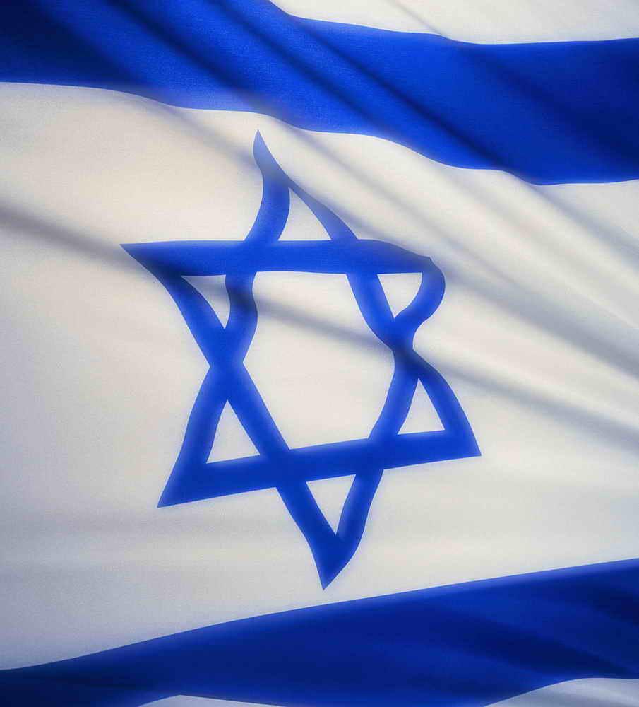 Israeli Flag Dishwasher Art Cover