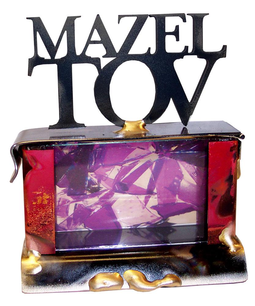Home Jewish Wedding Gift Ideas Small Wedding Shards Mazel Tov ...
