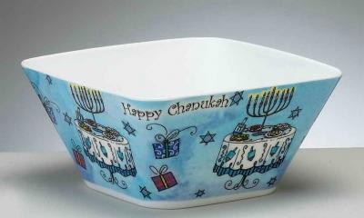 Melamine Dinnerware Will Compliment Your Hanukkah Table