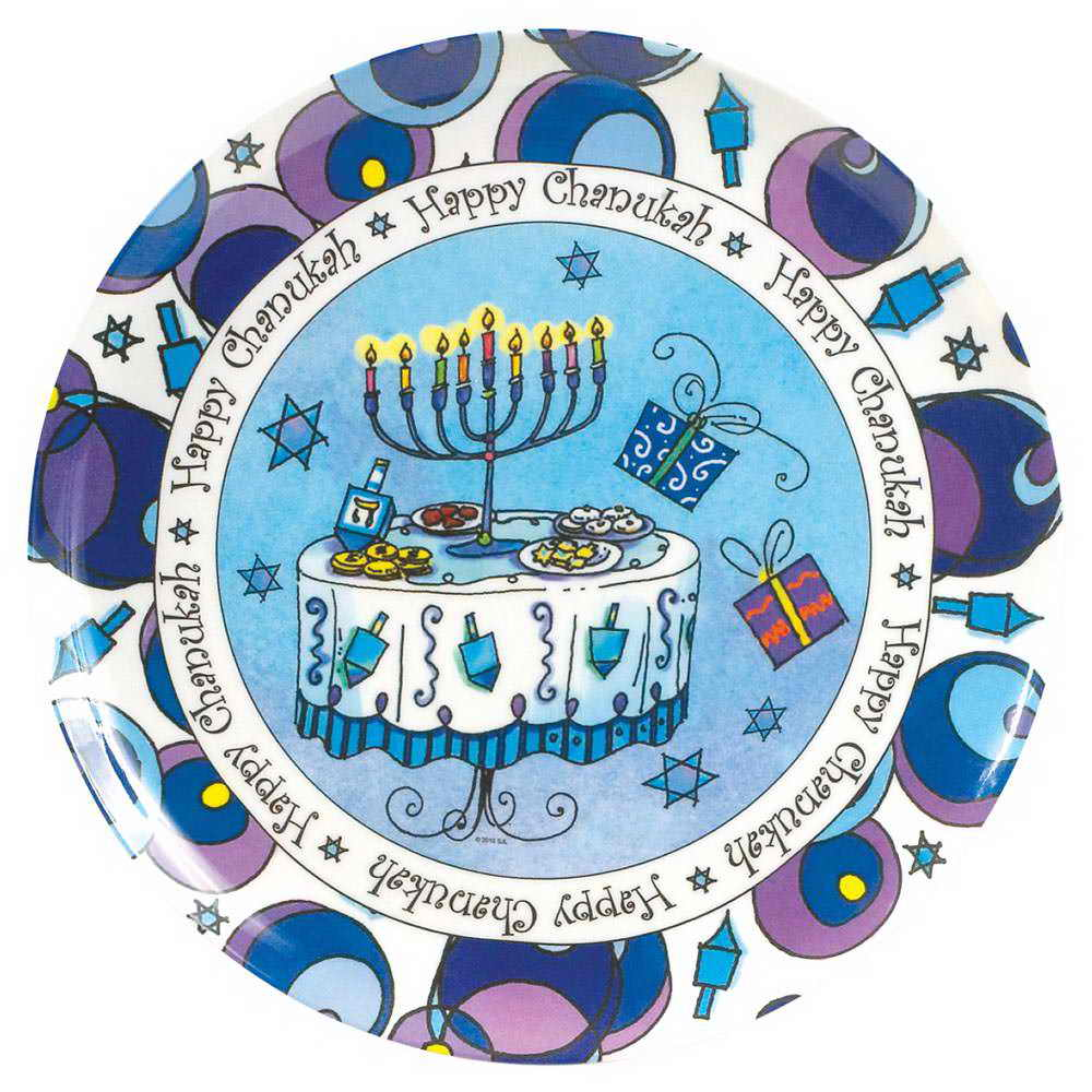 plate hanukkah festive celebrate table dinner party  sc 1 st  Traditions Jewish Gifts & Cooking \u0026 Recipes - Traditions Jewish Gifts