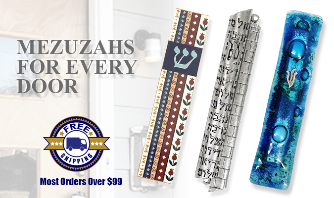 Mezuzahs Are Great Jewish Gifts