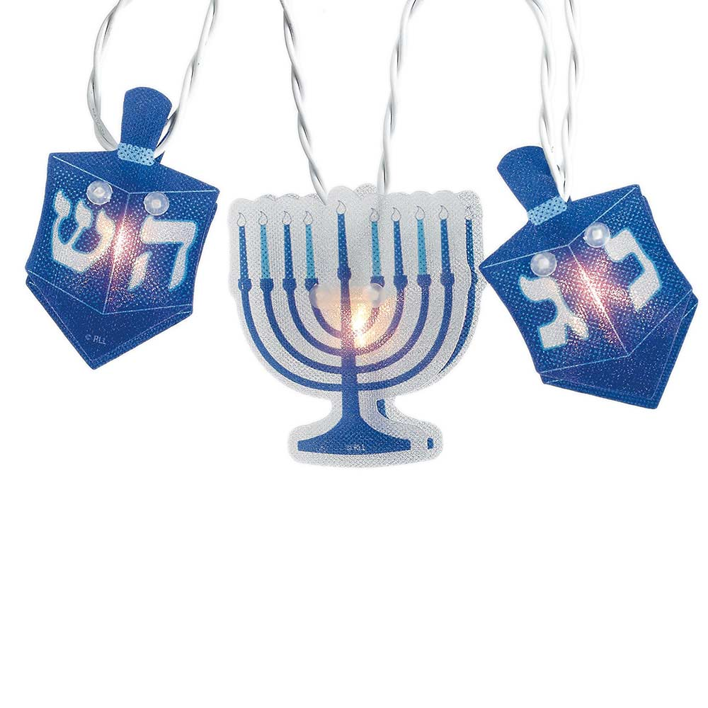 Jewish Gifts Hanukkah Decorations Blue And White