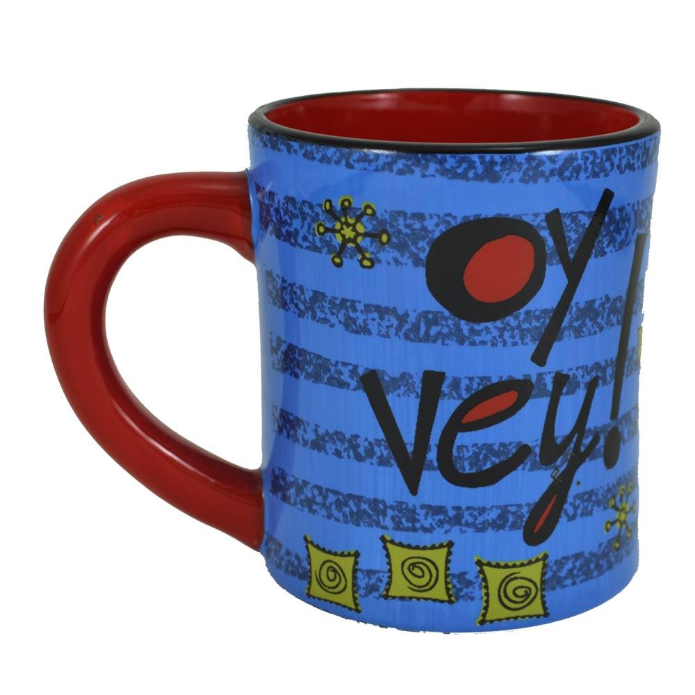 Personalized Oy Vey! Mug Hanukkah Gift Oy Vey