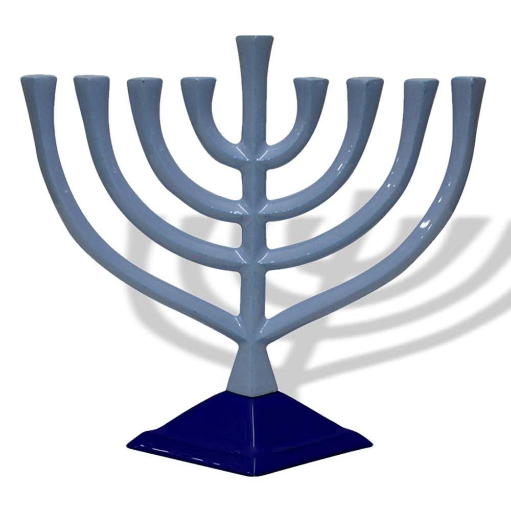 Hanukkah Gifts Contemporary Hanukkah Menorah Pewter