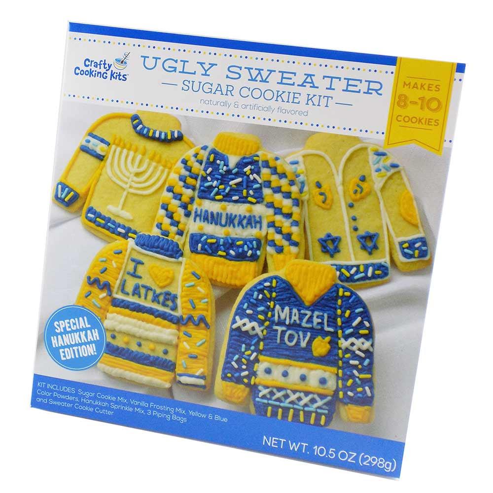 Hanukkah Ugly Sweater Sugar Cookie Mix