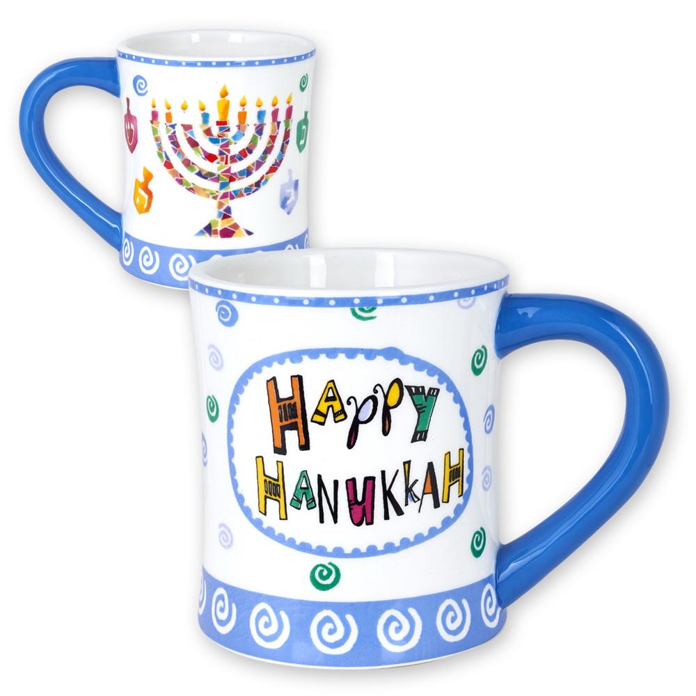 hanukkah gifts happy hanukkah ceramic mug