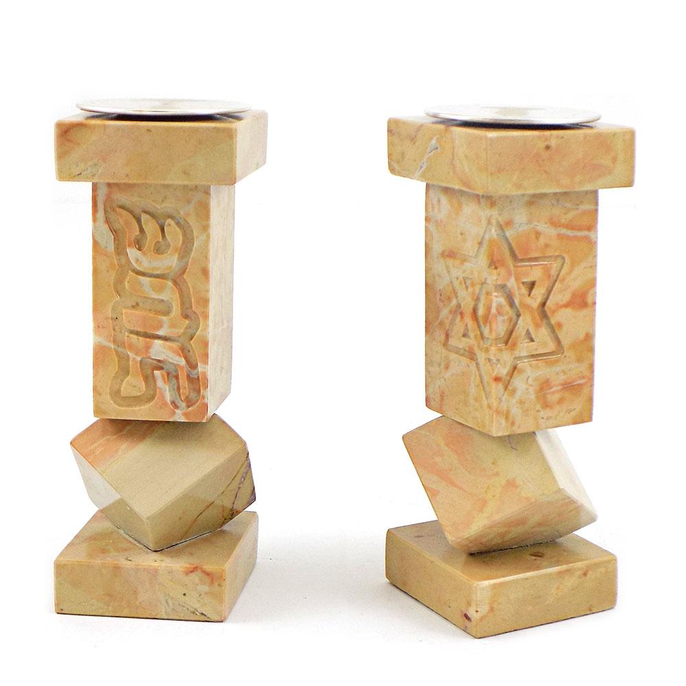 Stone candlestick 9