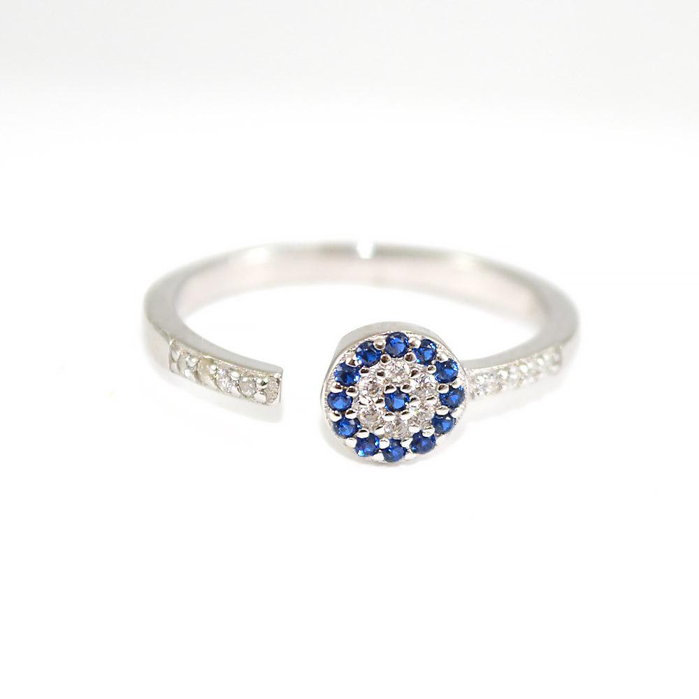 Circles /& Crystals Expandable Ring